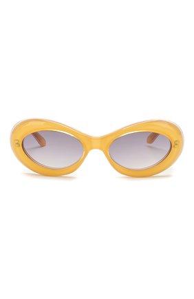 Детские солнцезащитные очки OLIVER GOLDSMITH желтого цвета, арт. BUDE | Фото 2