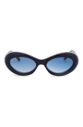 Детские солнцезащитные очки OLIVER GOLDSMITH синего цвета, арт. BUDE | Фото 2