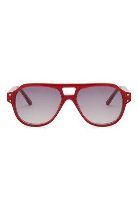 Детские очки OLIVER GOLDSMITH красного цвета, арт. GLYN | Фото 2