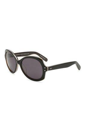 Детские солнцезащитные очки OLIVER GOLDSMITH черного цвета, арт. M00NSHINE | Фото 1