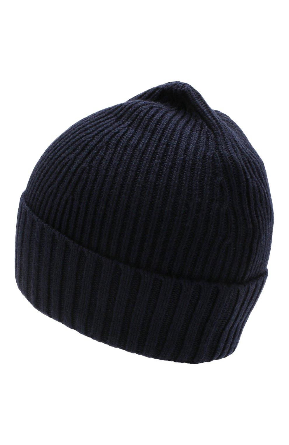 Детского шапка STONE ISLAND темно-синего цвета, арт. 7116N03A6   Фото 2