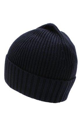 Детского шапка STONE ISLAND темно-синего цвета, арт. 7116N03A6 | Фото 2