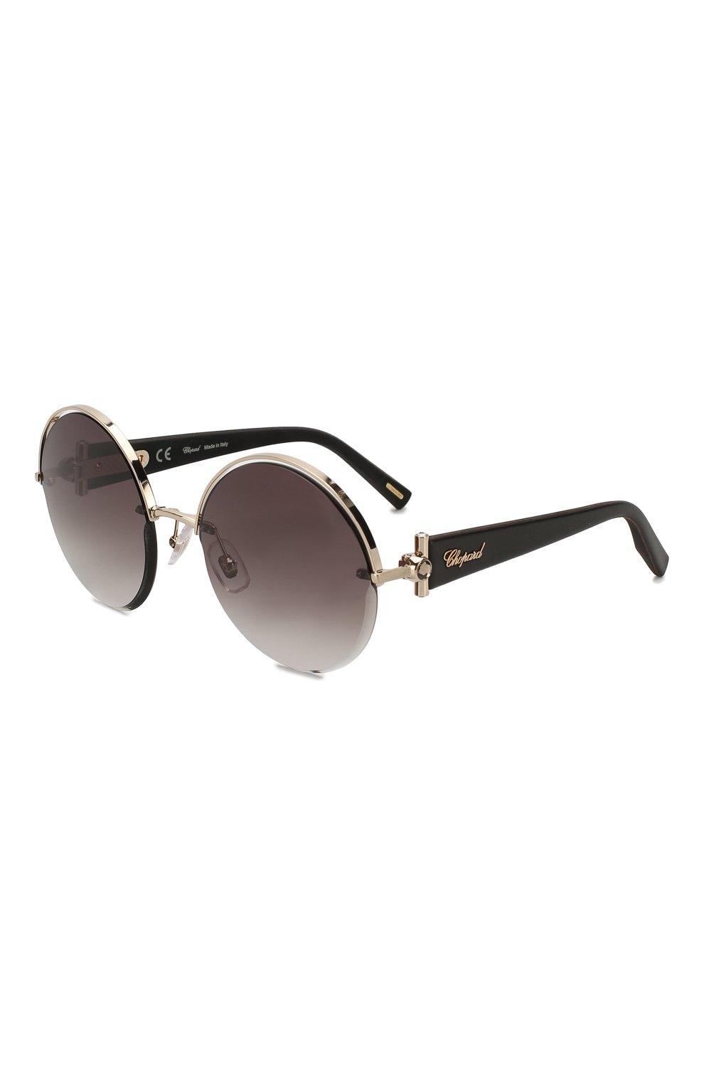 Женские солнцезащитные очки CHOPARD черного цвета, арт. C81S 300 | Фото 1