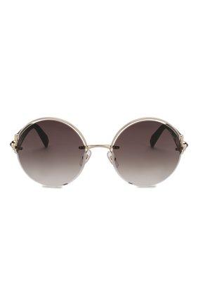 Женские солнцезащитные очки CHOPARD черного цвета, арт. C81S 300 | Фото 3