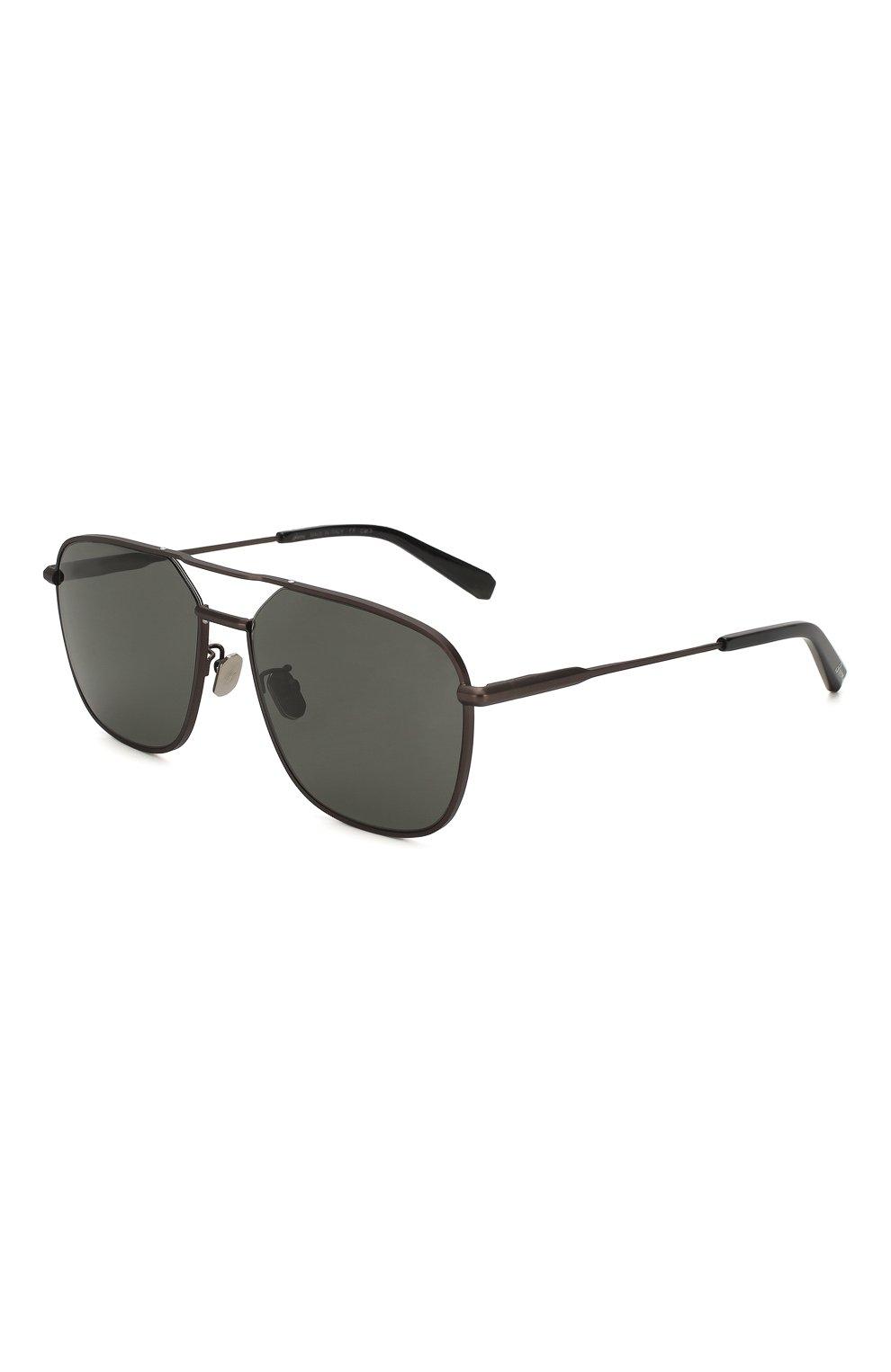 Мужские солнцезащитные очки BRIONI черного цвета, арт. BR0067 005   Фото 1