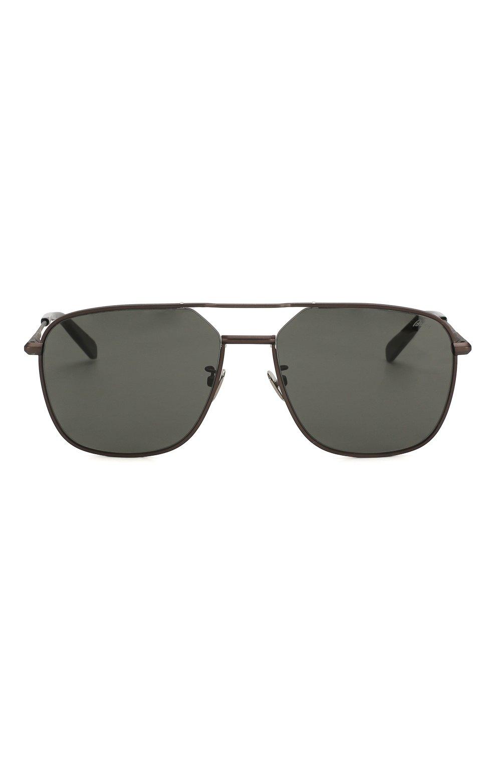 Мужские солнцезащитные очки BRIONI черного цвета, арт. BR0067 005   Фото 3