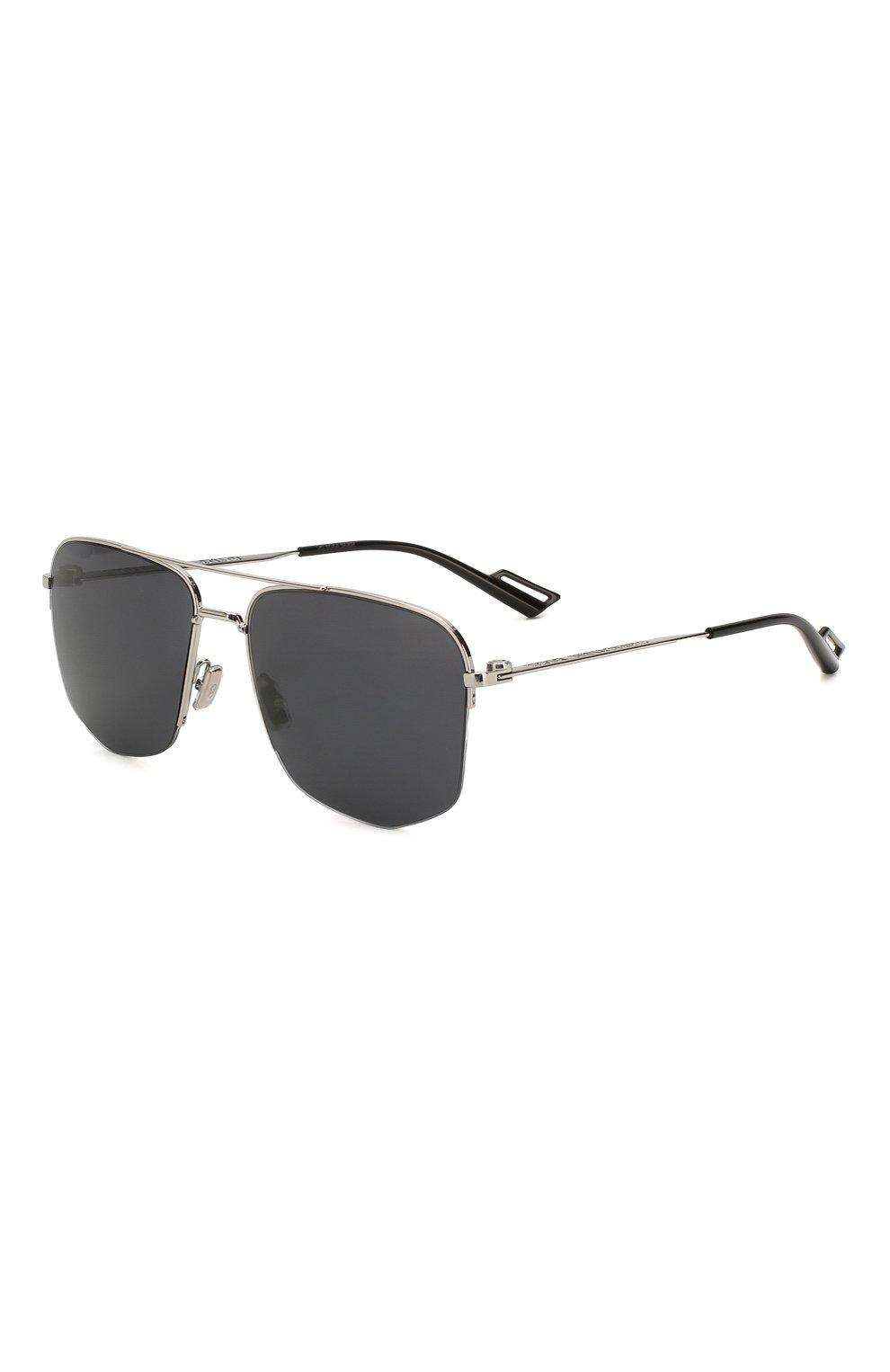 Мужские солнцезащитные очки DIOR черного цвета, арт. DI0R180 84J | Фото 1