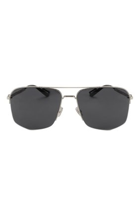 Мужские солнцезащитные очки DIOR черного цвета, арт. DI0R180 84J | Фото 3