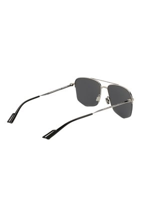 Мужские солнцезащитные очки DIOR черного цвета, арт. DI0R180 84J | Фото 4