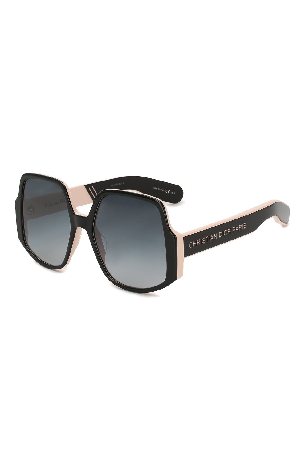 Женские солнцезащитные очки DIOR черного цвета, арт. DI0RINSIDE0UT1 3H2 | Фото 1