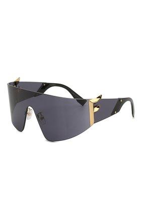 Мужские солнцезащитные очки FENDI черного цвета, арт. 0382 807 | Фото 1