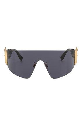 Женские солнцезащитные очки FENDI черного цвета, арт. 0382 807 | Фото 3