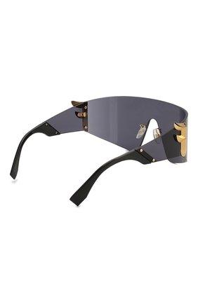 Женские солнцезащитные очки FENDI черного цвета, арт. 0382 807 | Фото 4
