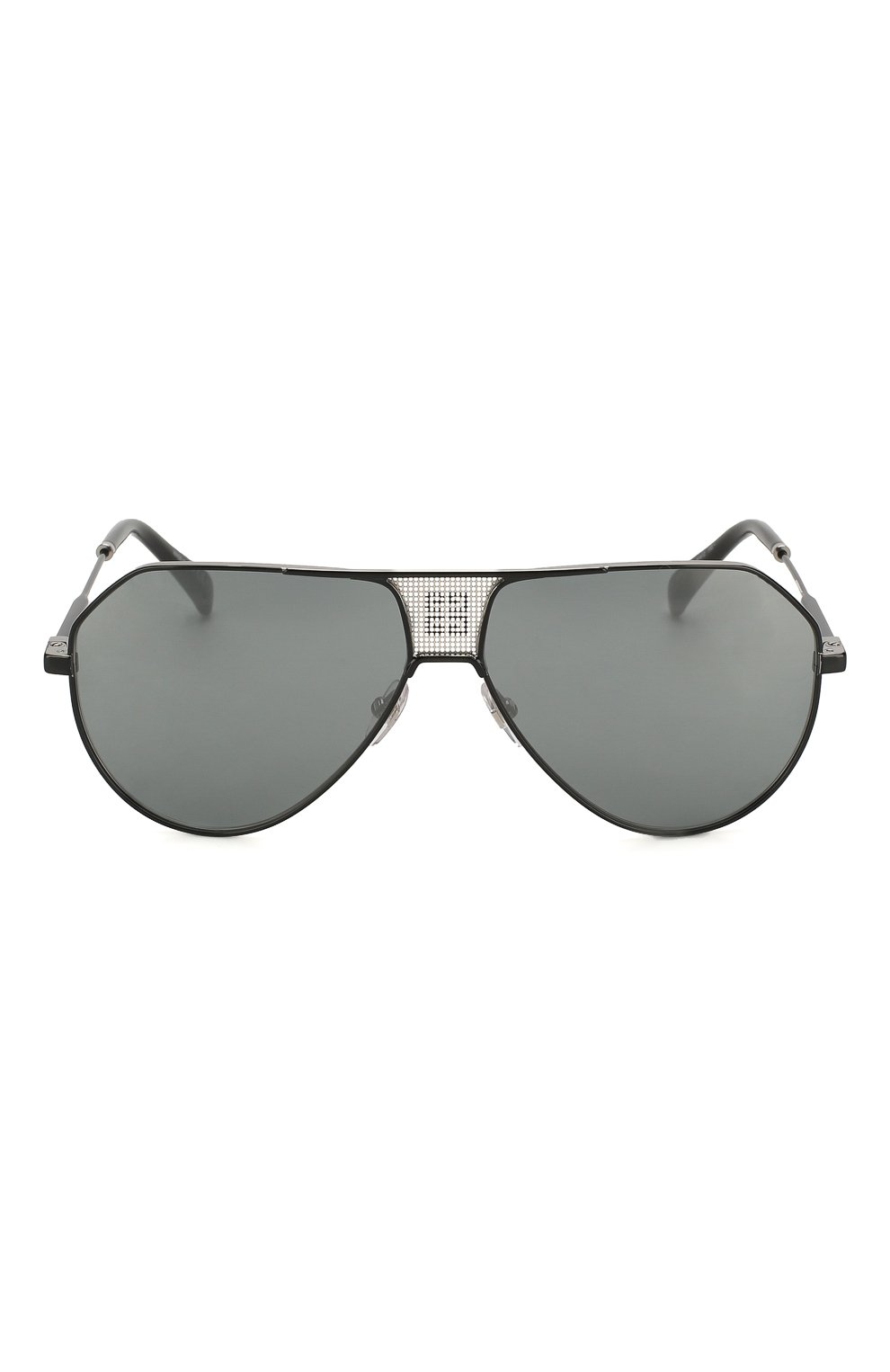 Женские солнцезащитные очки GIVENCHY черного цвета, арт. 7137 284 | Фото 4