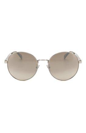 Женские солнцезащитные очки GIVENCHY серебряного цвета, арт. 7149/F 010 | Фото 4