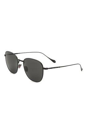 Мужские солнцезащитные очки GIORGIO ARMANI серого цвета, арт. 6096-300161 | Фото 1