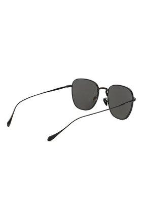 Мужские солнцезащитные очки GIORGIO ARMANI серого цвета, арт. 6096-300161 | Фото 4