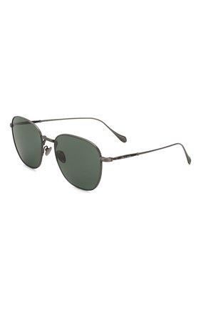 Мужские солнцезащитные очки GIORGIO ARMANI зеленого цвета, арт. 6096-326071 | Фото 1