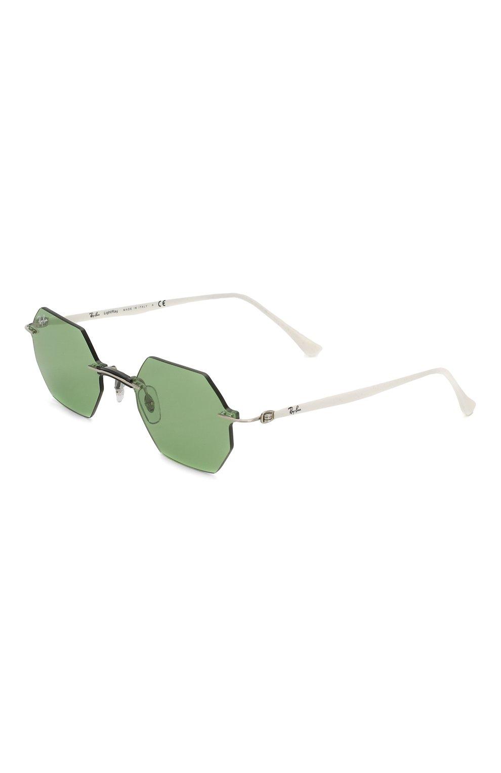 Женские солнцезащитные очки RAY-BAN зеленого цвета, арт. 8061-003/2 | Фото 1