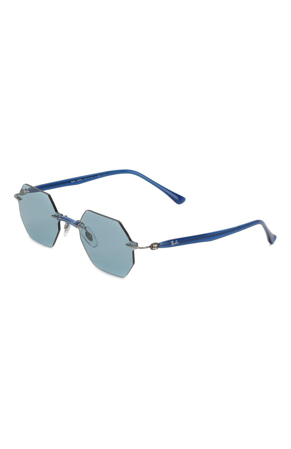 Женские солнцезащитные очки RAY-BAN синего цвета, арт. 8061-004/80 | Фото 1