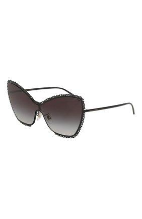 Мужские солнцезащитные очки DOLCE & GABBANA черного цвета, арт. 2240-01/8G | Фото 1