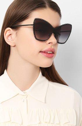 Мужские солнцезащитные очки DOLCE & GABBANA черного цвета, арт. 2240-01/8G | Фото 2