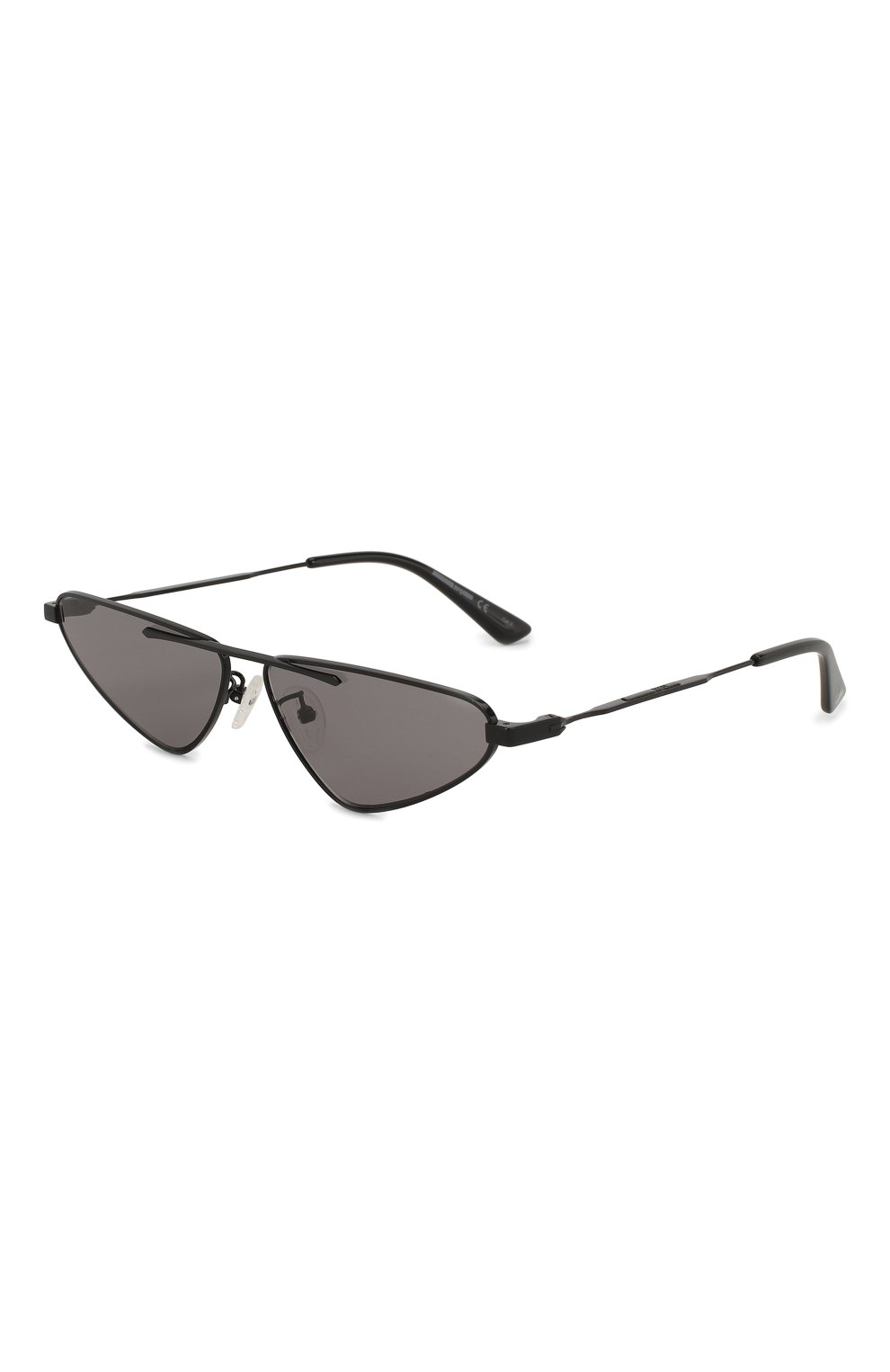 Женские солнцезащитные очки MCQ SWALLOW черного цвета, арт. MQ0226 001 | Фото 1