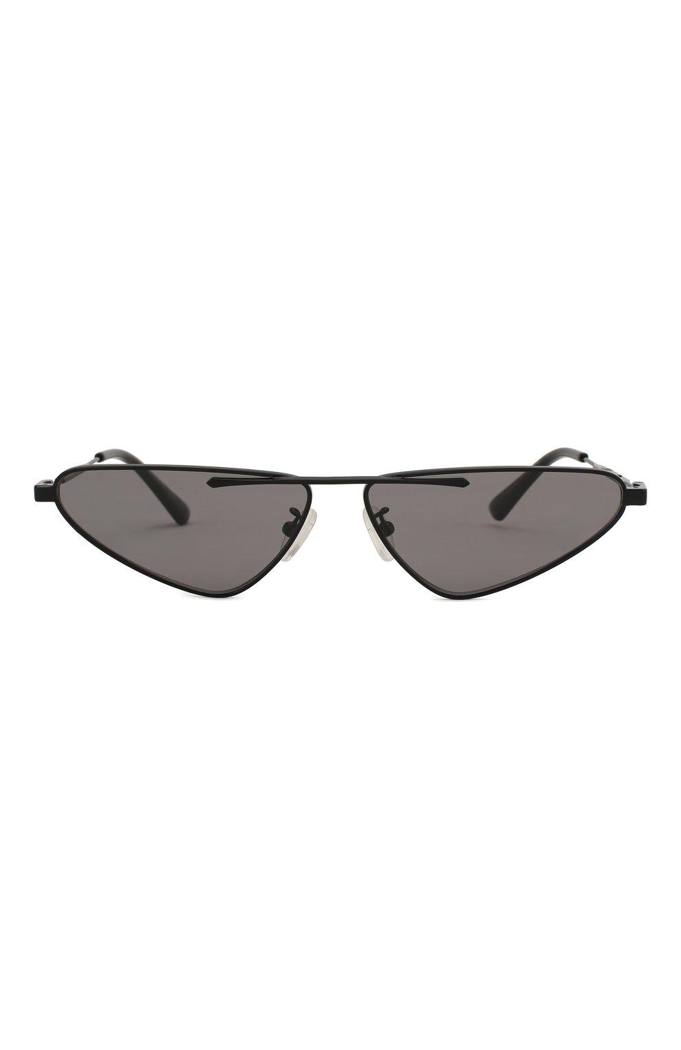 Женские солнцезащитные очки MCQ SWALLOW черного цвета, арт. MQ0226 001 | Фото 4