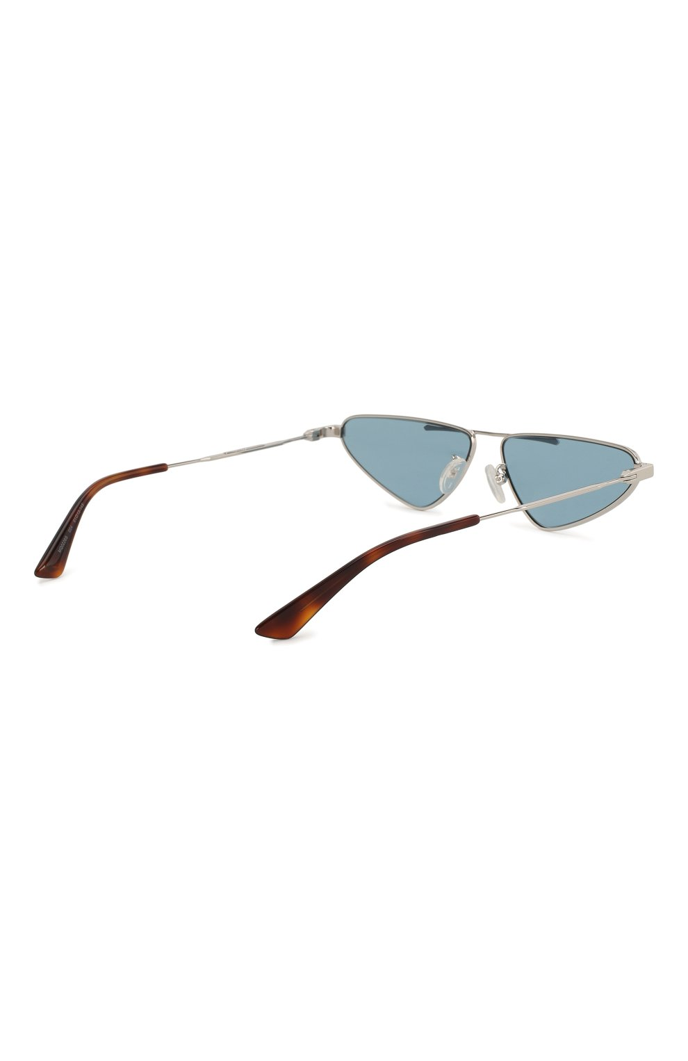 Женские солнцезащитные очки MCQ SWALLOW голубого цвета, арт. MQ0226 004 | Фото 5 (Тип очков: С/з; Статус проверки: Проверена категория; Оптика Гендер: оптика-унисекс; Очки форма: Узкие, D-форма)