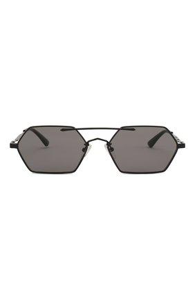 Мужские солнцезащитные очки MCQ SWALLOW черного цвета, арт. MQ0227SA 001   Фото 3 (Тип очков: С/з; Статус проверки: Проверена категория; Оптика Гендер: оптика-мужское)