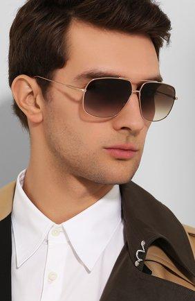 Мужские солнцезащитные очки TOM FORD коричневого цвета, арт. TF746 28K | Фото 2