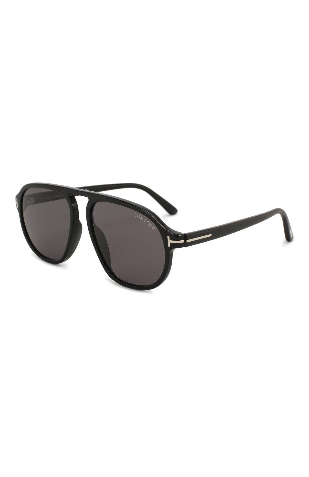 Женские солнцезащитные очки TOM FORD черного цвета, арт. TF755 01A | Фото 1