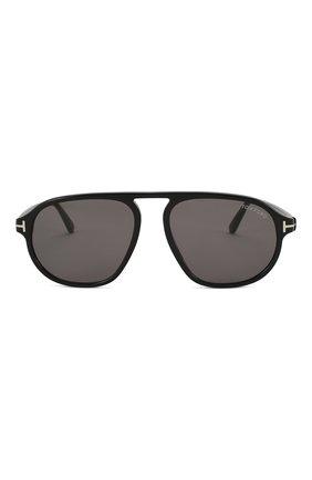 Женские солнцезащитные очки TOM FORD черного цвета, арт. TF755 01A | Фото 3