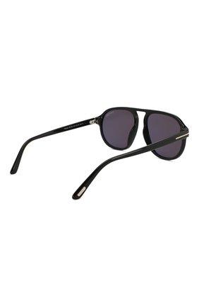 Женские солнцезащитные очки TOM FORD черного цвета, арт. TF755 01A | Фото 4