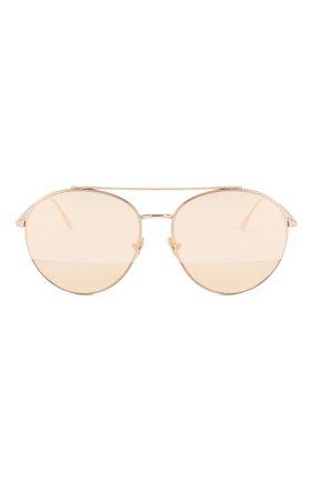 Женские солнцезащитные очки TOM FORD золотого цвета, арт. TF757 28Z | Фото 3