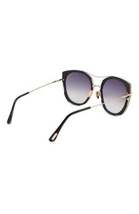 Женские солнцезащитные очки TOM FORD черного цвета, арт. TF760 01B | Фото 4