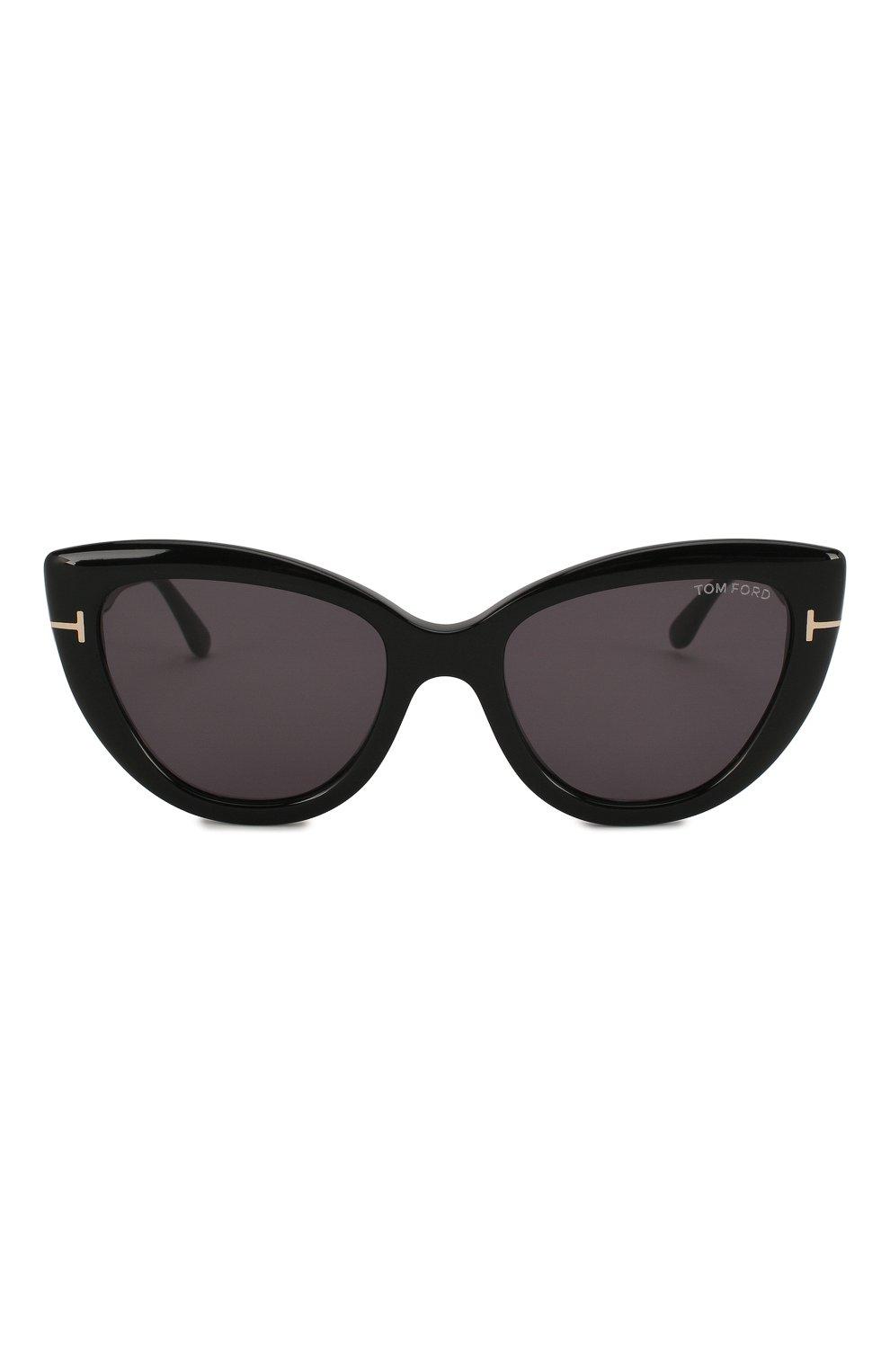 Женские солнцезащитные очки TOM FORD черного цвета, арт. TF762 01A | Фото 3