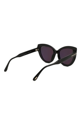 Женские солнцезащитные очки TOM FORD черного цвета, арт. TF762 01A | Фото 4