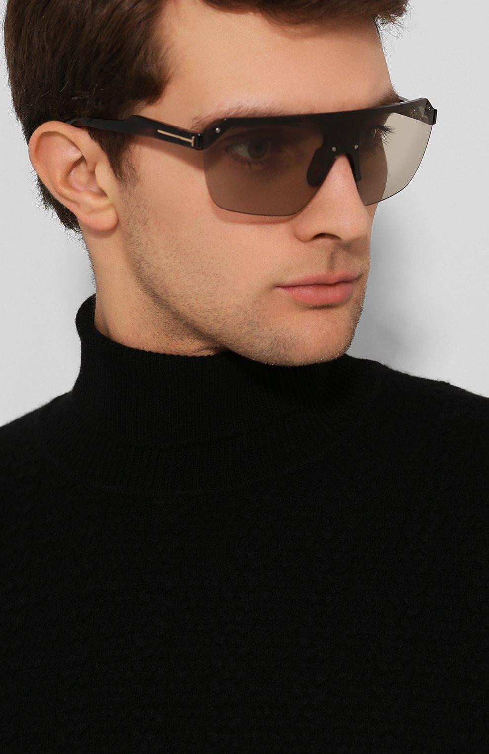 Женские солнцезащитные очки TOM FORD черного цвета, арт. TF797 56A | Фото 3