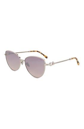 Женские солнцезащитные очки FRED лилового цвета, арт. FG40015U 18T | Фото 1
