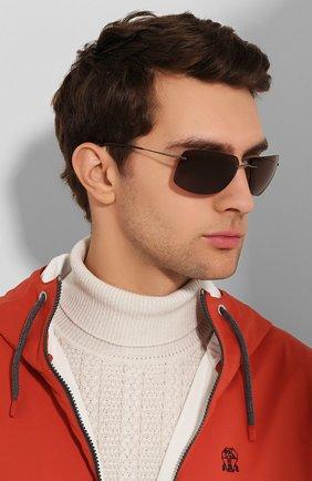 Женские солнцезащитные очки SILHOUETTE коричневого цвета, арт. 8698/6240 | Фото 3
