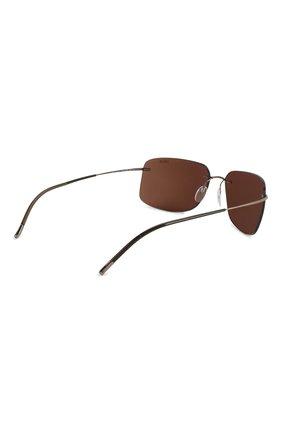 Женские солнцезащитные очки SILHOUETTE коричневого цвета, арт. 8698/6240 | Фото 5