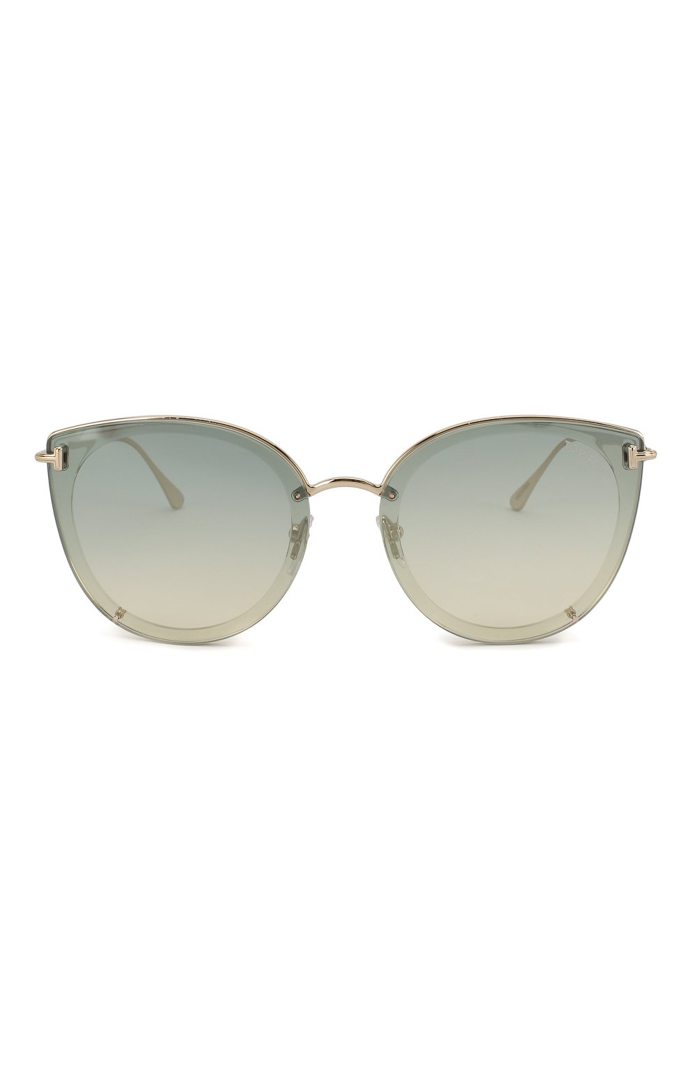 Женские солнцезащитные очки TOM FORD голубого цвета, арт. TF720-K 32Q | Фото 3