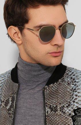 Женские солнцезащитные очки TOM FORD серебряного цвета, арт. TF721-K 32X | Фото 3