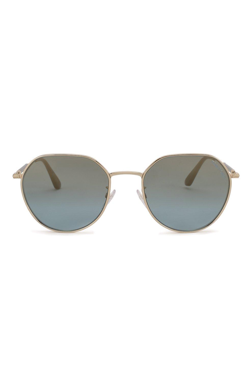 Женские солнцезащитные очки TOM FORD серебряного цвета, арт. TF721-K 32X | Фото 4