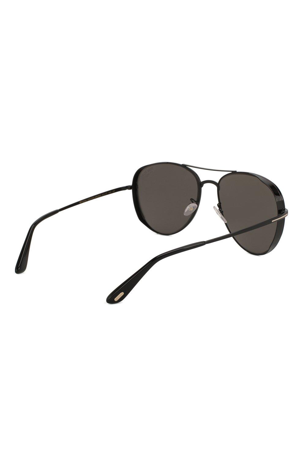 Женские солнцезащитные очки TOM FORD черного цвета, арт. TF723-K 01D   Фото 5