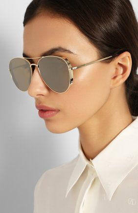 Женские солнцезащитные очки TOM FORD золотого цвета, арт. TF723-K 32G | Фото 2