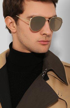 Женские солнцезащитные очки TOM FORD золотого цвета, арт. TF723-K 32G | Фото 3