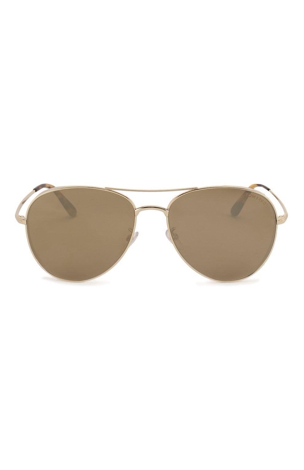Женские солнцезащитные очки TOM FORD золотого цвета, арт. TF723-K 32G | Фото 4