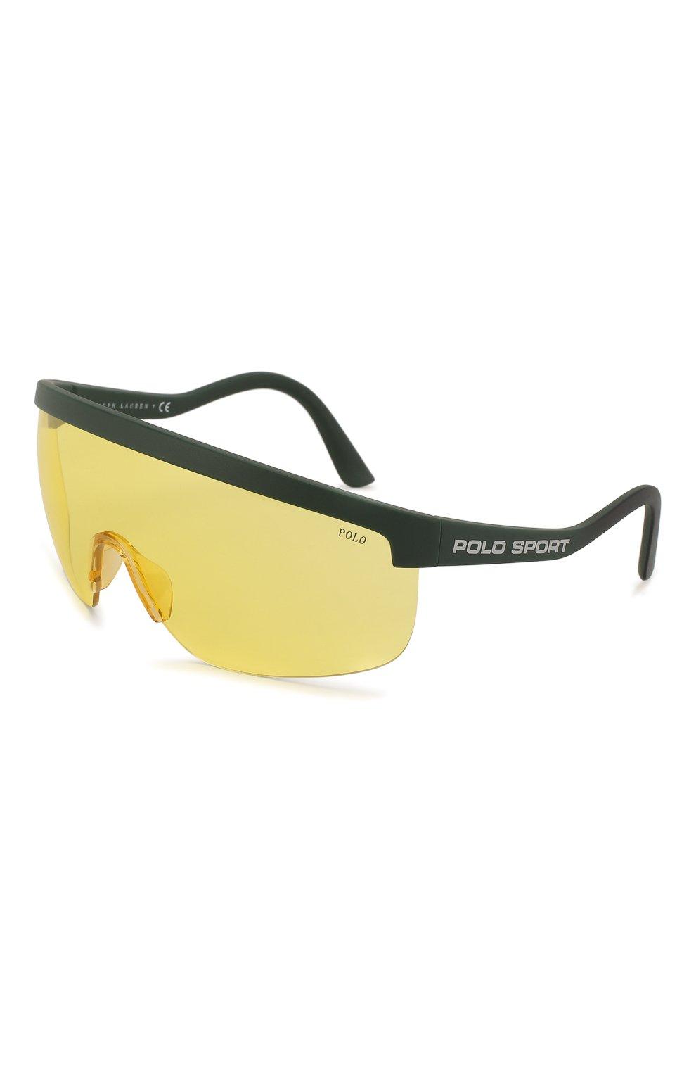 Женские солнцезащитные очки RALPH LAUREN желтого цвета, арт. 4156-582085 | Фото 1